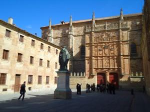 Universidad de Salamanca, inner patio