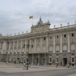 The Architecture in Madrid, Spain
