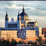 Catedral de la Almudena in Madrid, Spain