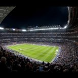The Santiago Bernabeu Stadium, Madrid