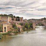 Puente de San Martin, Toledo, Spain