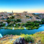 The City of Toledo, Spain