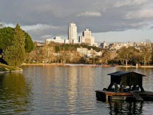 Casa de Campo, view from the lake