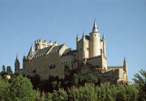 El Alcazar Castle in Segovia