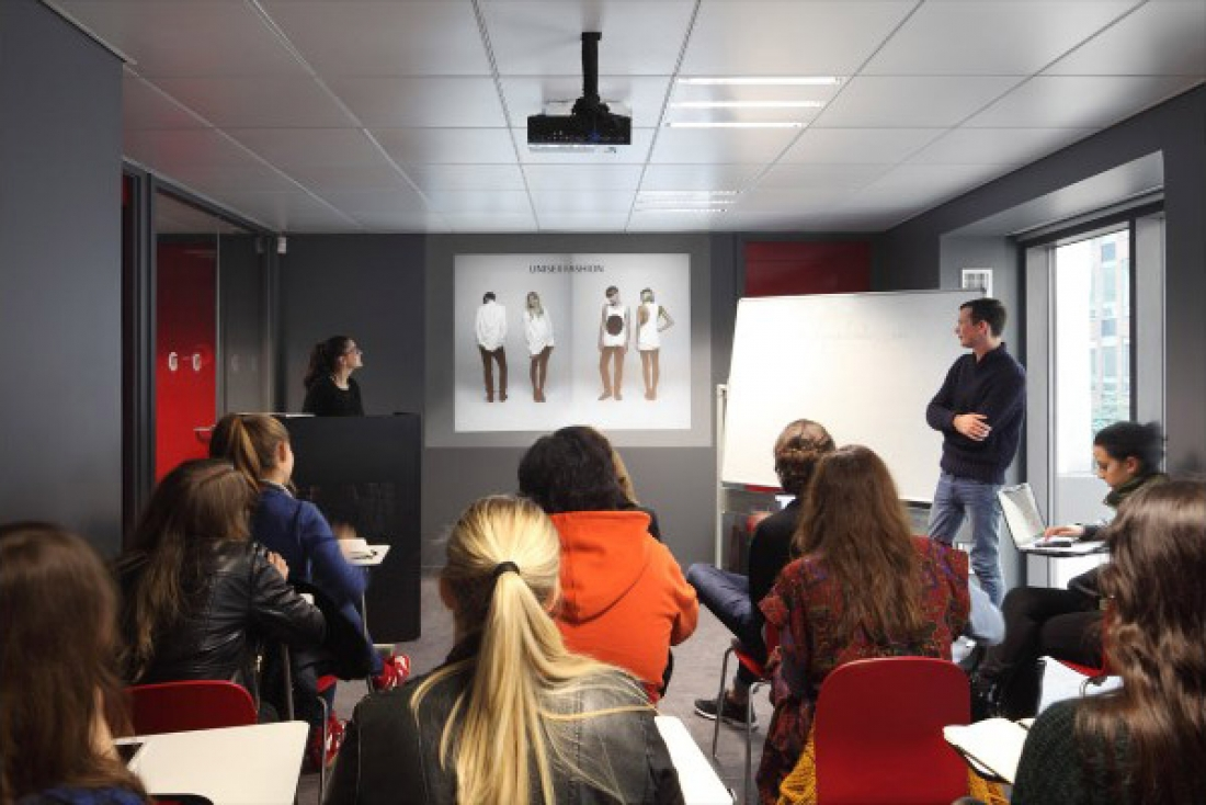 Fashion school in france
